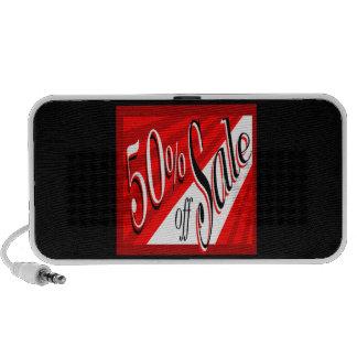 50% Sale iPod Speakers