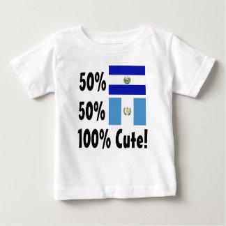 50% Salvadorian 50% Guatemalan 100% Cute Baby T-Shirt
