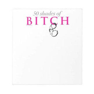 50 Shades Notepad