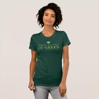 50 Shades of Green t0shirt T-Shirt