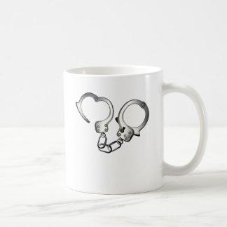 50 Shades Of Grey Handcuffs Basic White Mug