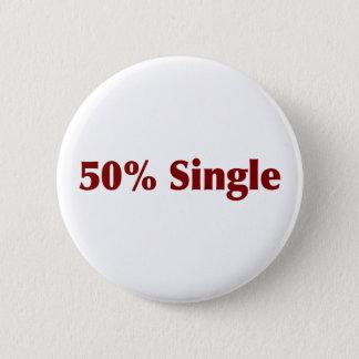 50% Single 2 Inch Round Button