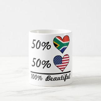 50% South African 50% American 100% Beautiful Coffee Mug
