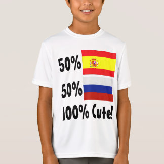 50% Spanish 50% Russian 100% Cute T-Shirt