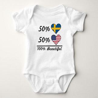 50% Swedish 50% American 100% Beautiful Baby Bodysuit