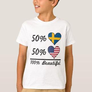 50% Swedish 50% American 100% Beautiful T-Shirt