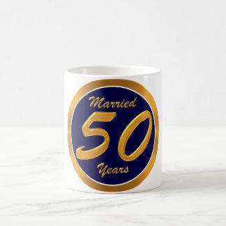 50 th Anniversary Coffee Mug