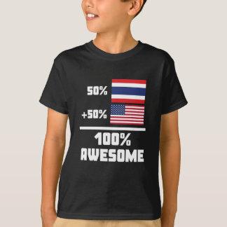 50% Thai 50% American 100% Awesome T-Shirt