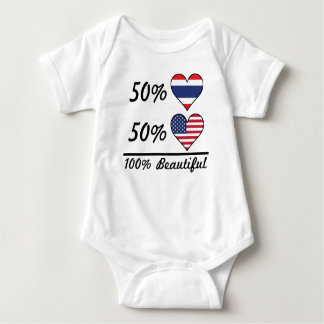 50% Thai 50% American 100% Beautiful Baby Bodysuit