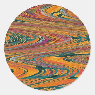 50 wave Sticker Decorations