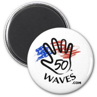 50 Waves Magnet