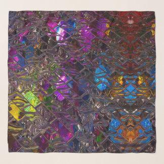 "50"" x 50"" Square Scarf, Glazed Colour Scarf"