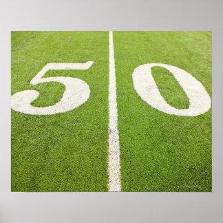 50 Yard Line Poster