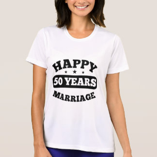 50 Year Happy Marriage T-Shirt