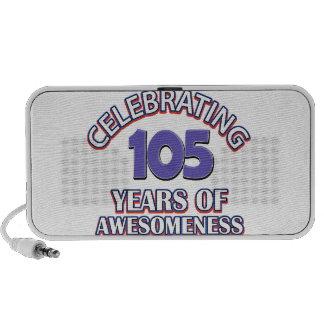 50 year old birthday design travelling speaker