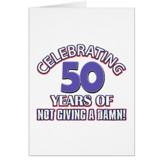 50 year old designs card