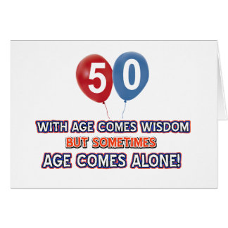 50 Year Old Birthday Cards, Photocards, Invitations & More
