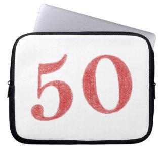 50 years anniversary computer sleeves