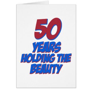 50 years old birthday designs greeting cards