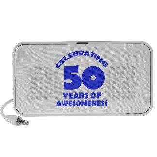 50 years old birthday designs mini speakers