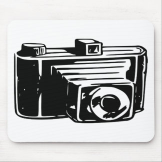 50s Camera Mouse Pad