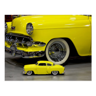 50s Classic Chevrolet Postcard