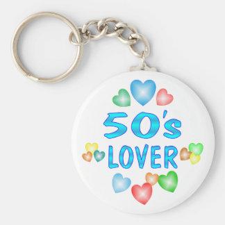 50s Lover Keychain
