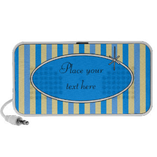 50s Retro Blueberries & Cream Doodle iPod Speaker