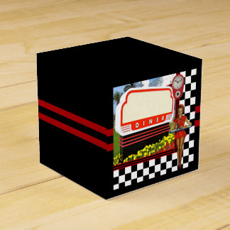 50s Retro Diner Favor Box