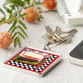 50s Retro Diner Keychain