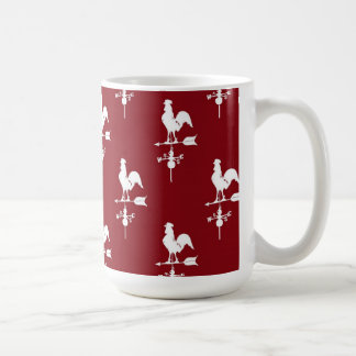 50s Rooster Weathervane Coffee Mug