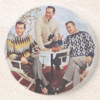 50's Sweater Guys Coaster