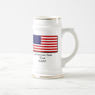 50star-big, All American Drink TeamXXXL Beer Stein