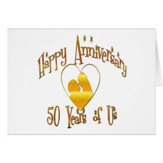 50th. Anniversary Card