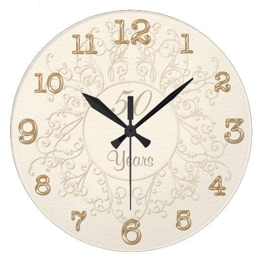 50th Anniversary Clocks or ANY Anniversary Year