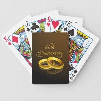 50th Anniversary   Gold Script Card Decks