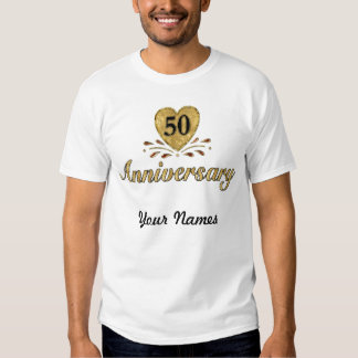50th Anniversary - Gold Tees