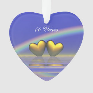 50th Anniversary Golden Hearts