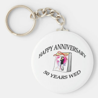 50th. ANNIVERSARY Keychain