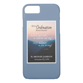 50th Anniversary of Ordination Congratulations iPhone 8/7 Case