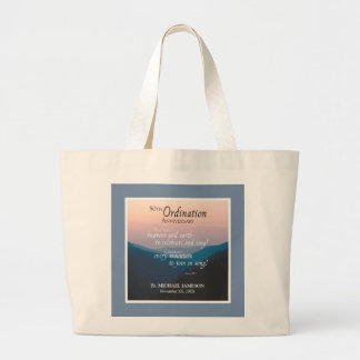 50th Anniversary of Ordination Congratulations Large Tote Bag
