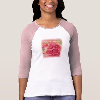 50th Anniversary of Religious Consecration Rose T-Shirt