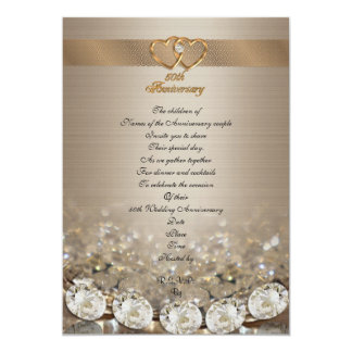 50th anniversary party for parents card