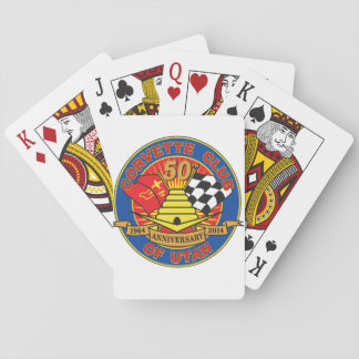 50th Anniversary Playing Cards