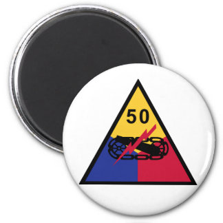 50th Armored Division Refrigerator Magnet