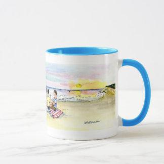50th beach party mug
