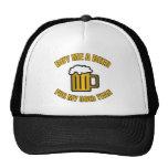 50th Birthday Funny Beer Trucker Hat