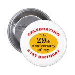 50th Birthday Gag Gifts Button