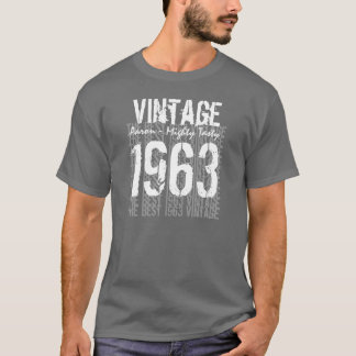 50th Birthday Gift Best 1963 Vintage V009C T-Shirt