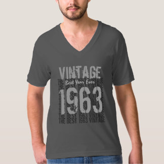 50th Birthday Gift Best Vintage Year 1963 V01 T-Shirt